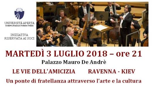 Ravenna Festival martedì 3 Luglio